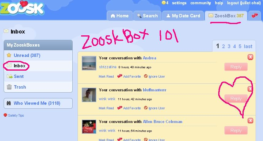 zoosk facebook Stord
